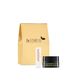 Dr. Stribor paket: Lip sleeping mask + Plantalip balzam za usne