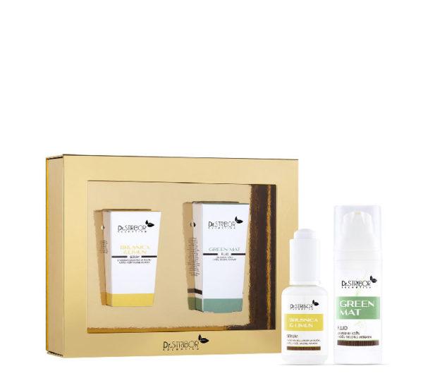 Dr. Stribor paket: Green Mat fluid + Serum Brusnica & Limun