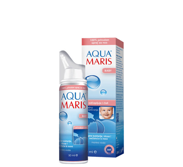 Aqua Maris Baby sprej za nos