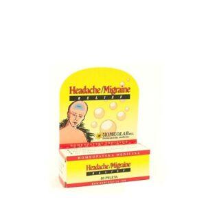HOMEOLAB Headache Migraine relief