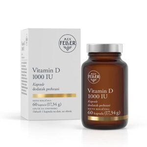 M.E.V. FELLER Vitamin D 1000 IU