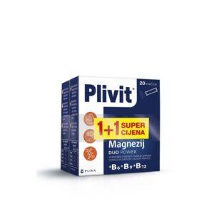Plivit Magnezij duo power 1+1