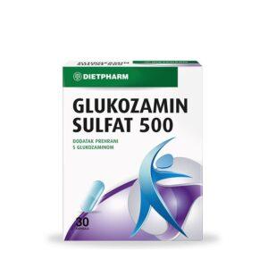 DIETPHARM Glukozamin sulfat 500 kapsule