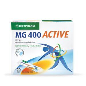 DIETPHARM MG 400 Active granule