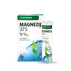 DIETPHARM Magnezij 375 šumeće tablete