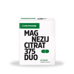 DIETPHARM Magnezij Citrat 375 DUO kapsule