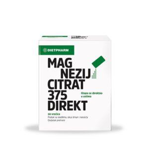 DIETPHARM Magnezij Citrat 375 Direkt prašak