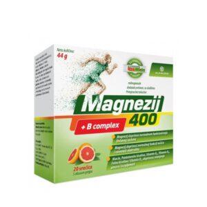 Magnezij 400 + B kompleks vrećice
