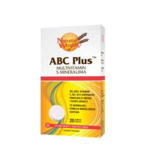 NATURAL WEALTH Abc Plus šumeće tablete