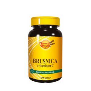 NATURAL WEALTH Brusnica s vitaminom C