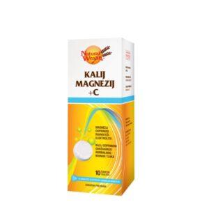 NATURAL WEALTH Kalij Magnezij + vitamin C