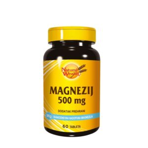 NATURAL WEALTH Magnezij 500 mg