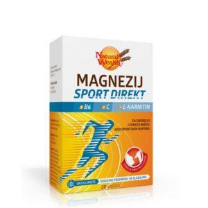 NATURAL WEALTH Magnezij Sport Direkt