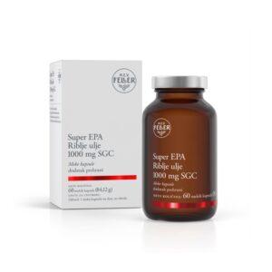M.E.V. FELLER Super EPA Riblje ulje 1000 mg SGC