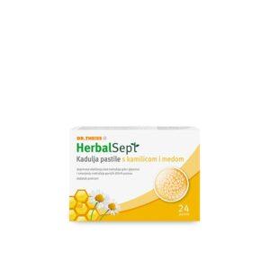 DR THEISS HerbalSept Kadulja pastile s kamilicom i medom