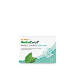 DR THEISS HerbalSept Kadulja pastile s metvicom