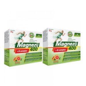 Magnezij 400 + B kompleks vrećice 1+1 PROMO