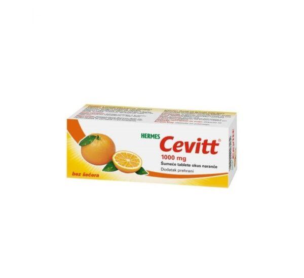 HERMES Cevitt1000 mg šumeće tablete