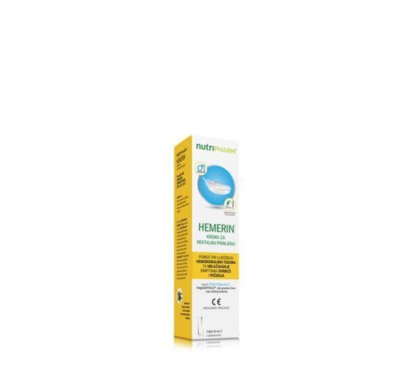NUTRIPHARM Hemerin krema kod liječenja hemoroida