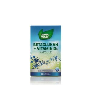 ZONA VITAL Betaglukan + Vitamin D3