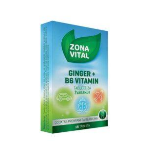 ZONA VITAL Ginger + B6 vitamin