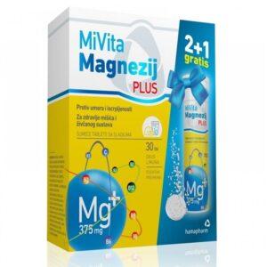 Hamapharm MiVita Magnezij PLUS šumeće tablete
