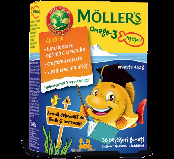 MOLLERS Omega 3 ribice naranča