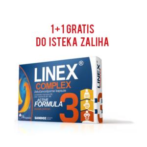 Linex complex 14 kapsula 1+1 gratis