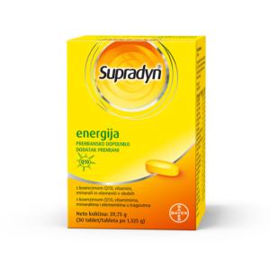 SUPRADYN energija koenzim Q10 30 tableta