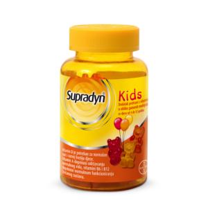 Supradyn Kids 30 gumenih medvjedića