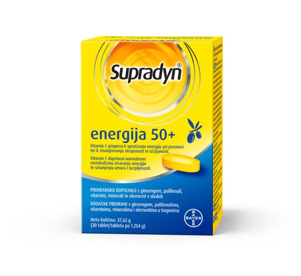 Supradyn energija 50+ 30 tableta