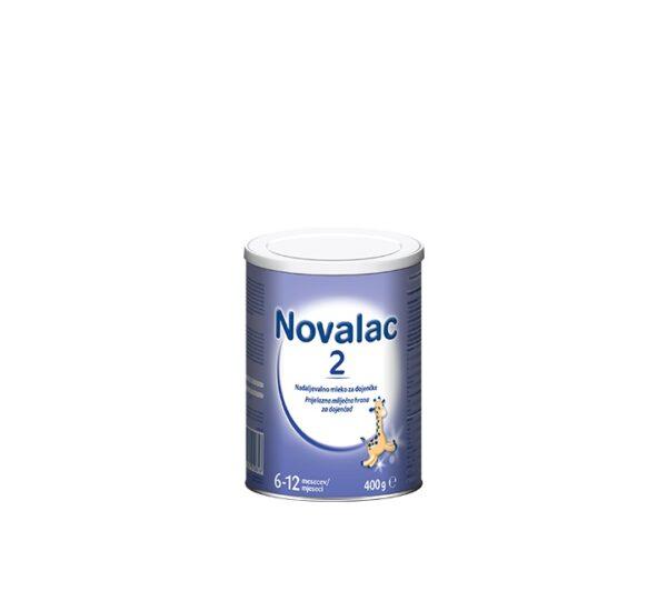 NOVALAC 2 prijelazna mliječna hrana za dojenčad (6-12 mj.) 400 g