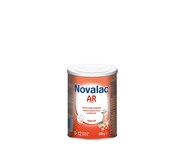 NOVALAC AR početna mliječna hrana za dojenčad s vraćanjem hrane (0-12 mj.) 400 g