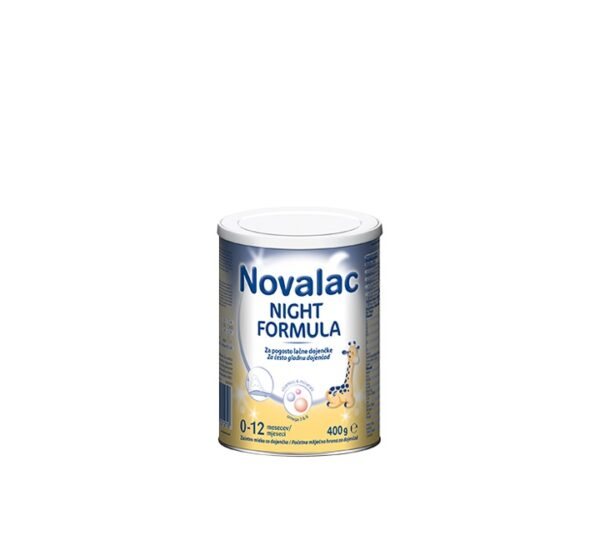 NOVALAC Night Formula početna mliječna hrana za često gladnu dojenčad (0-12 mj.) 400 g