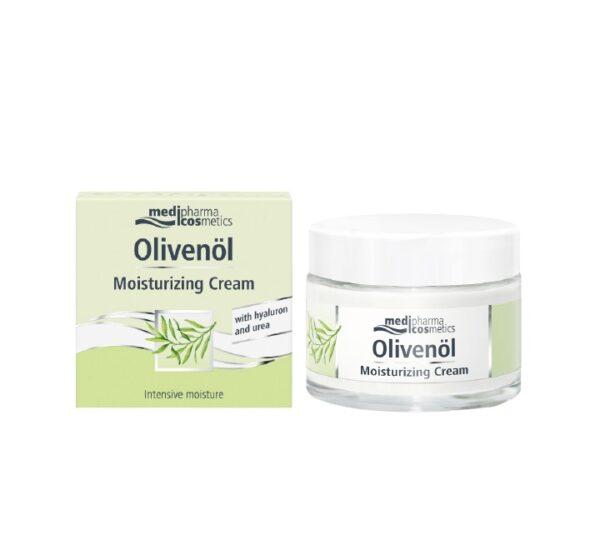 MEDIPHARMA COSMETICS Olivenol Hidratantna krema s hijaluronom i ureom