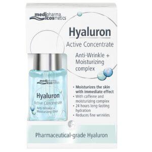 Medipharma cosmetics Hyaluron aktivni koncentrat protiv bora hidratacija