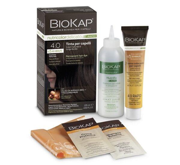 BioKap boja za kosu 4.0 brown