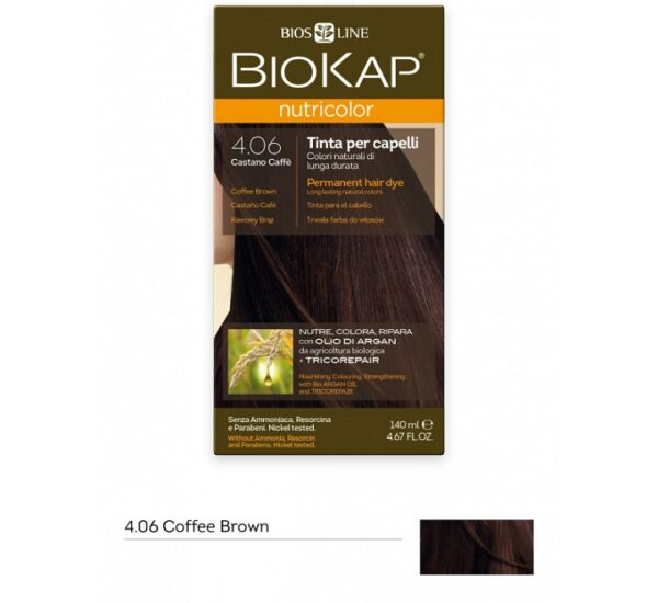 biokap-nutricolor-406-coffee-brown-hair-colour