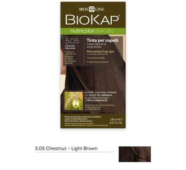 biokap-nutricolor-delicato-505-chestnut-light-brown-dye