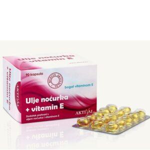 AKTIVAL Ulje noćurka vitamin E 90 kapsula