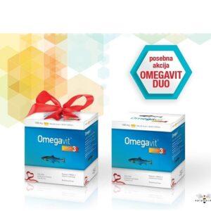 APIPHARMA Omegavit omega 3 DUO PAKIRANJE